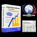 Partnerprogramm-Box, Aktualisierungs- und Zeitungs-Symbol
