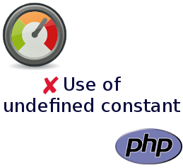 Use of undefined constant