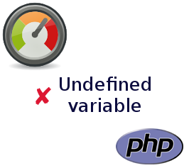 PHP: Undefined variable