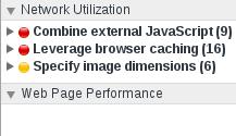 Screenshot Chrome Audits nach Entfernung überflüssiger CSS-Regeln