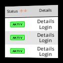 Screenshot Affiliate-Verwaltung im Affiliate-Modul für Gambio