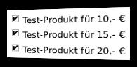 Screenshot Bestellformular mit Mutli-Bestellung