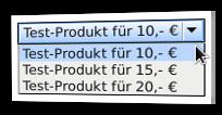 Screenshot Bestellformular ohne Mutli-Bestellung