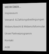 Screenshot Fußbereich eines Onlineshops mit Link zum Partnerprogramm