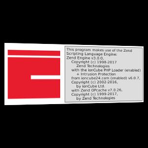 ionCube-Logo und Screenshot phpinfo()-Ausgabe