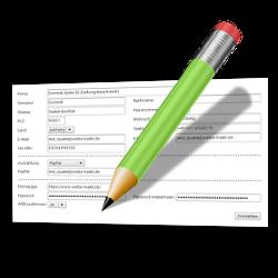Registrierungsformular anpassen