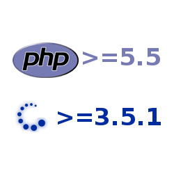 PHP >= 5.5, Gambio >= 3.5.1