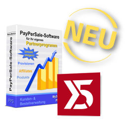 Neu: Affiliate-Software & WebSite X5 Evolution