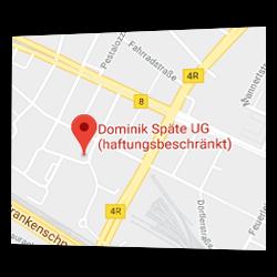 Dominik Späte UG (haftungsbeschränkt) bei Google Maps mit AJAX-Navigation