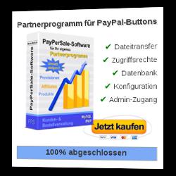 Einrichten des Partnerprogramms für PayPal-Buttons