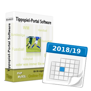 Tippspiel-Portal Software Saison 2018/19