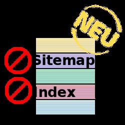 Neu: No Sitemap, no Index