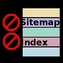No Sitemap, no Index