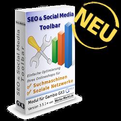 Neu: SEO & Social Media Toolbar