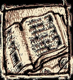 Aufgeklapptes, altes Buch