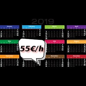 Stundensatz Webentwicklung ab Juni 2019