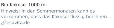 Twitter-Preview: Bio-Kokosöl 1000 ml