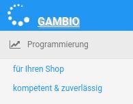 Gambio Programmierung für Ihren Shop kompetent & zuverlässig