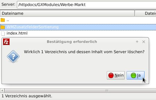 /httpdocs/GXModules/Werbe-Markt löschen in FileZilla