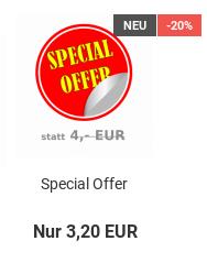 Special Offer: statt 4,- EUR nur 3,20 EUR = -20%