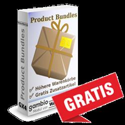 Gambio Gratisartikel: Nach Warenwert gestaffelt auswählbar