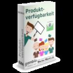Softwarebox Produktverfügbarkeit Gambio-Modul von Werbe-Markt.de