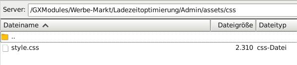 FileZilla Verzeichnis /GXModules/Werbe-Markt/Ladezeitoptimierung/Admin/assets/css