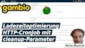 gambio Ladezeitoptimierung HTTP-CronJob mit cleanup-Parameter
