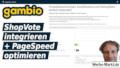gambio ShopVote integrieren + PageSpeed optimieren