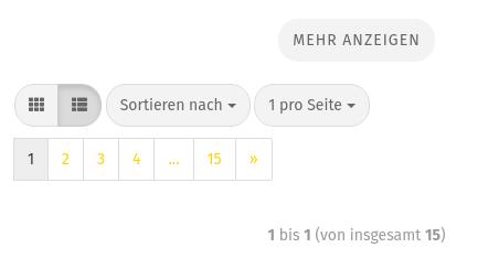 Mehr anzeigen Button und Blätter-Funktion