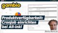 Gambio Produktverfügbarkeit: CronJob einrichten bei All-inkl